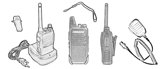How to talk on a walkie-talkie
